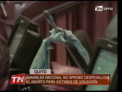 Asamblea Nacional no aprobó despenalizar el aborto para víctimas de violación