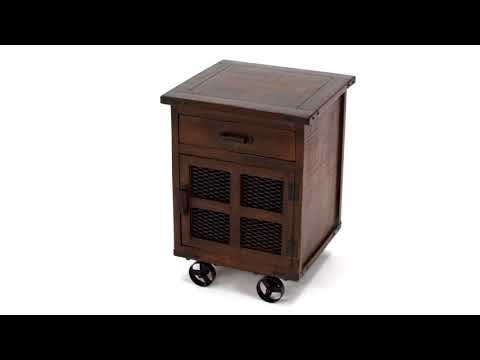 Norlandon T938-2 Square End Table