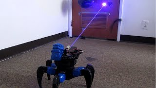 Death Laser Ray Spider-Bot