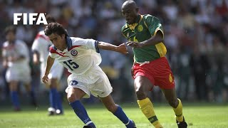 Goals from Patrick Mboma and Jose Sierra meant Chile and Cameroon shared the points during their group stage match at the...