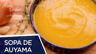 Sopa de Auyama Dominicana | Made To Order | Chef Zee Cooks