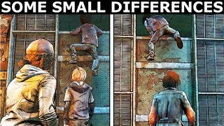 Louis / Violet Helping AJ To Climb Up The Gate - The Walking Dead Final Season 4 Episode 3