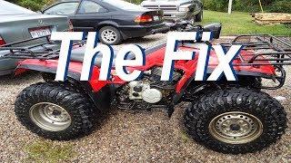 7. Honda TRX 350 Wont Start