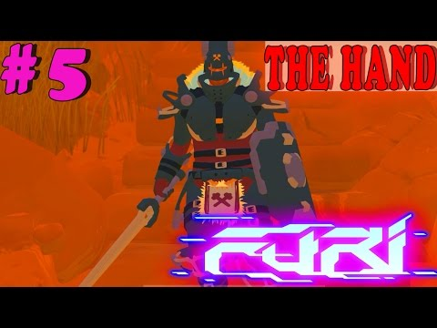 FURI Gameplay Boss #5: THE HAND |  Walkthrough PC Full HD No Commentary