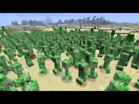 Minecraft Parody - CREEPER STYLE