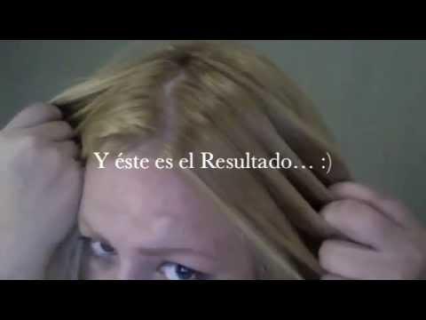 ♥COMO TEÑIR LAS RAICES DE EL CABELLO OBSCURO A RUBIAS!!!!!!♥ VIDEO#19