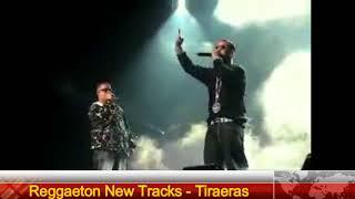 Hector El Father y Daddy Yankee VS Don Omar y Arcangel  Batalla De Tiraera