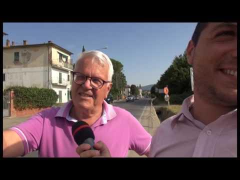 Viale Santa Margherita, strada ancora senza protezioni