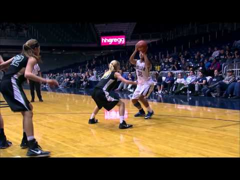 Butler Women's Basketball Highlights vs. Wright State