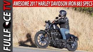 8. 2017 Harley Davidson Iron 883 Specs Review