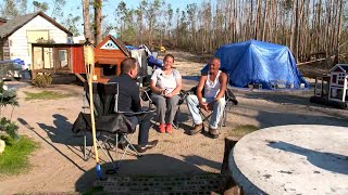 Florida Panhandle Residents Still Living In Tent Cities Six Months After Hurricane Michael