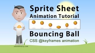 Sprite Sheet Animation Steps CSS Program Bouncing Ball Tutorial