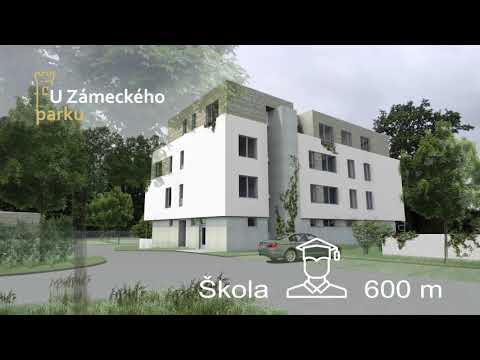 Video Prodej, byt 3+kk, 82m2 + 75m2 terasa, Hluboká nad Vltavou