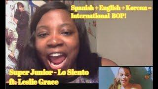 Video SUPER JUNIOR (슈퍼주니어) -  Lo Siento Ft. Leslie Grace MV Reaction MP3, 3GP, MP4, WEBM, AVI, FLV Juli 2018