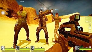 Playthrough of The Undead Zone, a custom map for Left 4 Dead 2