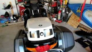 8. 2004 BMW R1150RT-P Startup and Walkaround Police Lights and Sirens