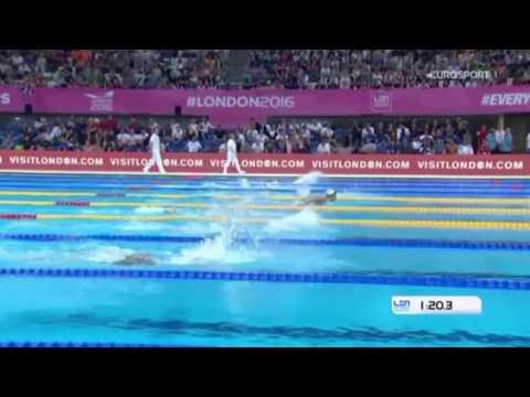 EM 2016 London - 200m Schmetterling Frauen - Gold Franziska Hentke