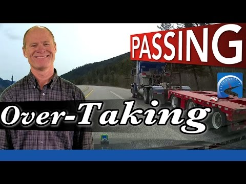 How To Pass Another Vehicle And Overtake Safely | New Driver Smart