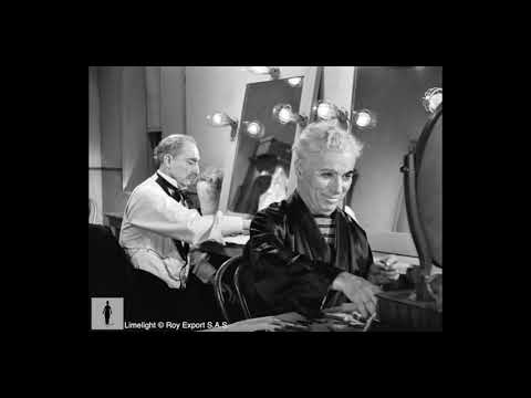 Charlie Chaplin and Buster Keaton in Dressing Room - Limelight