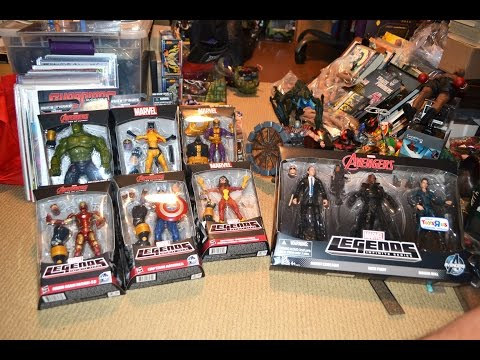 Bargain/ Sale MARVEL LEGENDS INFINITE SERIES HUNTING & COLLECTING Avengers