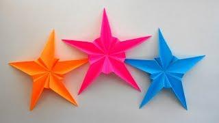Звезда из бумаги к дню Победы Оригами поделки к 9 мая