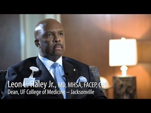 Dr. Leon Haley on leadership