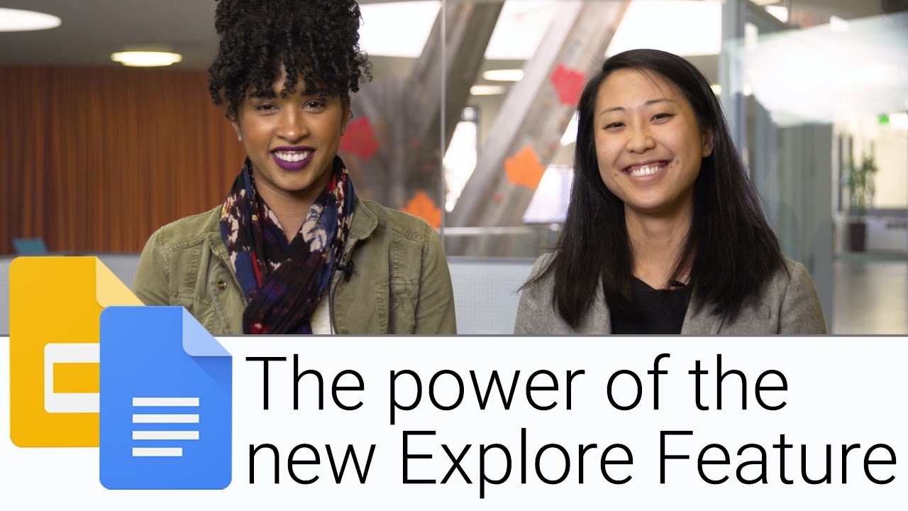 Explore feature for Docs and Slides | The G Suite Show