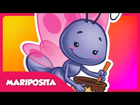 Mariposita ORIGINAL - Gallina Pintadita 2 - Oficial - Canciones infantiles para niños y bebés