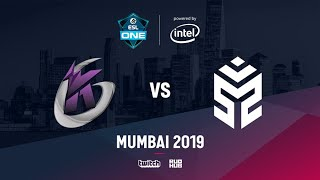 Keen Gaming vs Signify, ESL One Mumbai 2019, bo3, game 2 [Adekvat   & Lost]