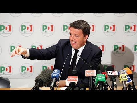 Italien: Matteo Renzi dankt ab / »Garant für politische Moral«