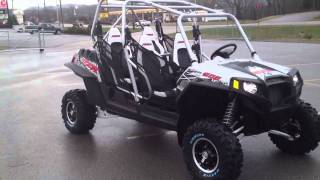 2. 2012 Polaris Ranger RZR XP 4 900 LE in Liquid Silver at Tommy's MotorSports