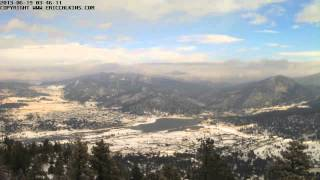 2013-11-21 - Estes Park Prospect Mountain Two Time-Lapse