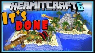 Hermitcraft Season 6: Finishing Treasure Island And Mine  (Minecraft 1.13 survival let's play Ep.14)