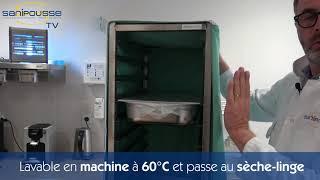 HOUSSE BACTÉRIOSTATIQUE ISOTHERME - ÉCHELLE 600x400
