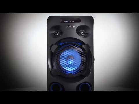The new Sony MHC-V02 High Power Audio System