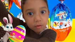 Julia e João comprando ovos de páscoa Kinder Ovo egg surpresa totoykids Surprise EggsCOMPRANDO OVOS DE PÁSCOA - HOMEM ARANHA, HULK, FROZEN, KINDER OVO Surprise Eggs  totoykids