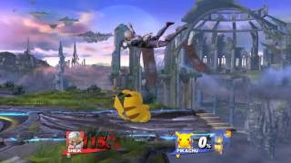 How to DI Pikachu's Up Throw to Thunder Combo Properly
