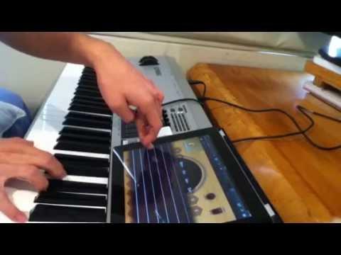 Yamaha MO8 to iPad's GarageBand - Detailed Review Pt. 2
