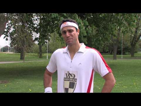 Karim Darwish: Win signed HEAD Squash racquets