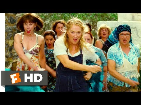 Mamma Mia! (2008) - Dancing Queen Scene (3/10) | Movieclips (видео)