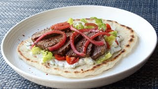 Gyros - How to Make a Gyros Sandwich - Lamb & Beef Mystery Meat Demystified by Food Wishes