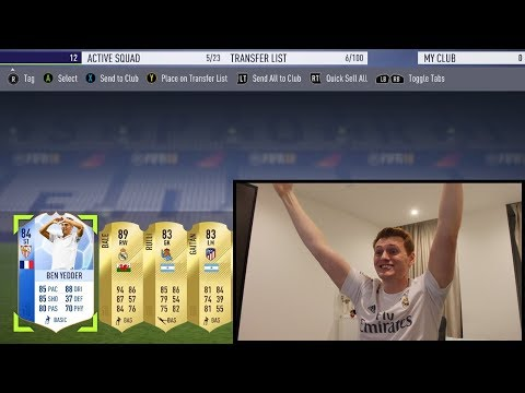 WHAT IS THAT PACK!!! INSANE FIFA 18 Pack Opening!!! (видео)