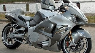 8. Hayabusa GSX R 1300  Turbo 400Km/H racing