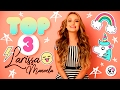 Top 3: Larissa Manoela conta tudo que você sempre quis saber!