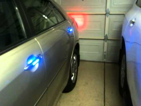 Toyota Camry 07 with GPS and LED doors handle