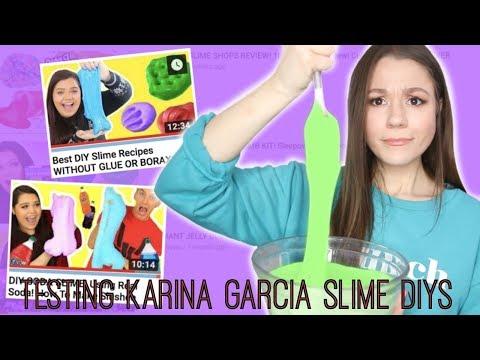 I Tried Following A Karina Garcia Slime DIY!????Did It Work?