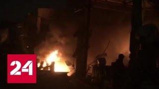 Пожар на базе в Нижнекамске: 5 человек погибли