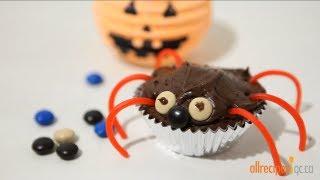 Décorer des petits gâteaux pour l'Halloween