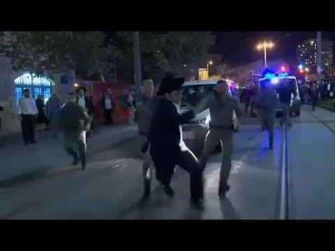 Ιερουσαλήμ: Συγκρούσεις αστυνομίας με υπερορθόδοξους διαδηλωτές…