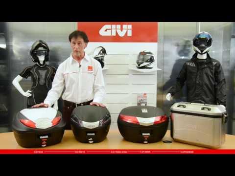 Das neue Sortiment an GIVI Zubehör und Helmen 2016